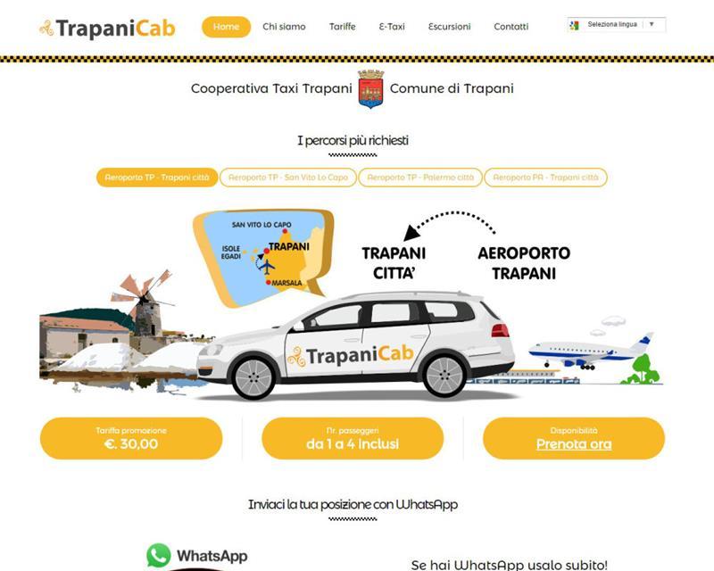 Taxi a Trapani
