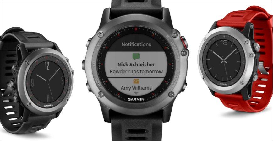 Garmin fenix 3, lo smartwatch con lo sport dentro