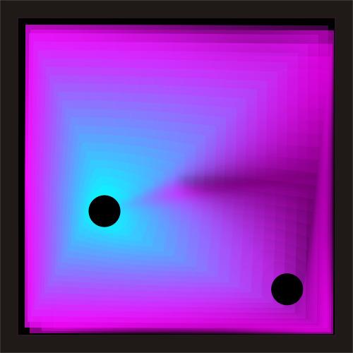 Art Illusione di perle nere