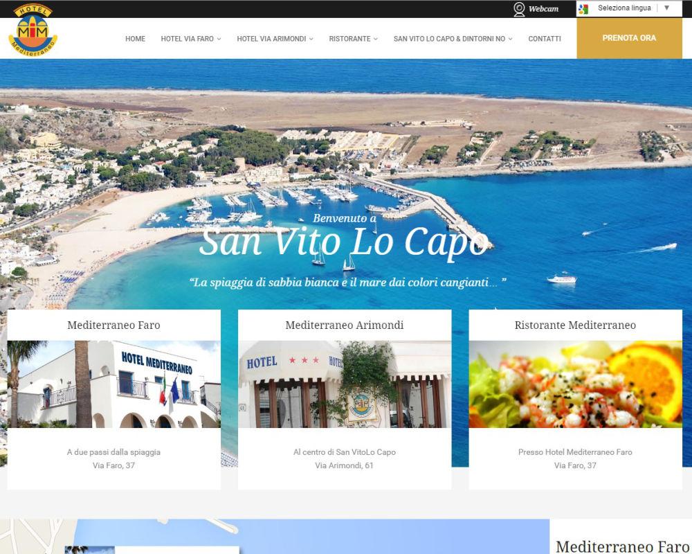 HotelMediterraneoTp.com - Hotel a SanVitoLoCapo
