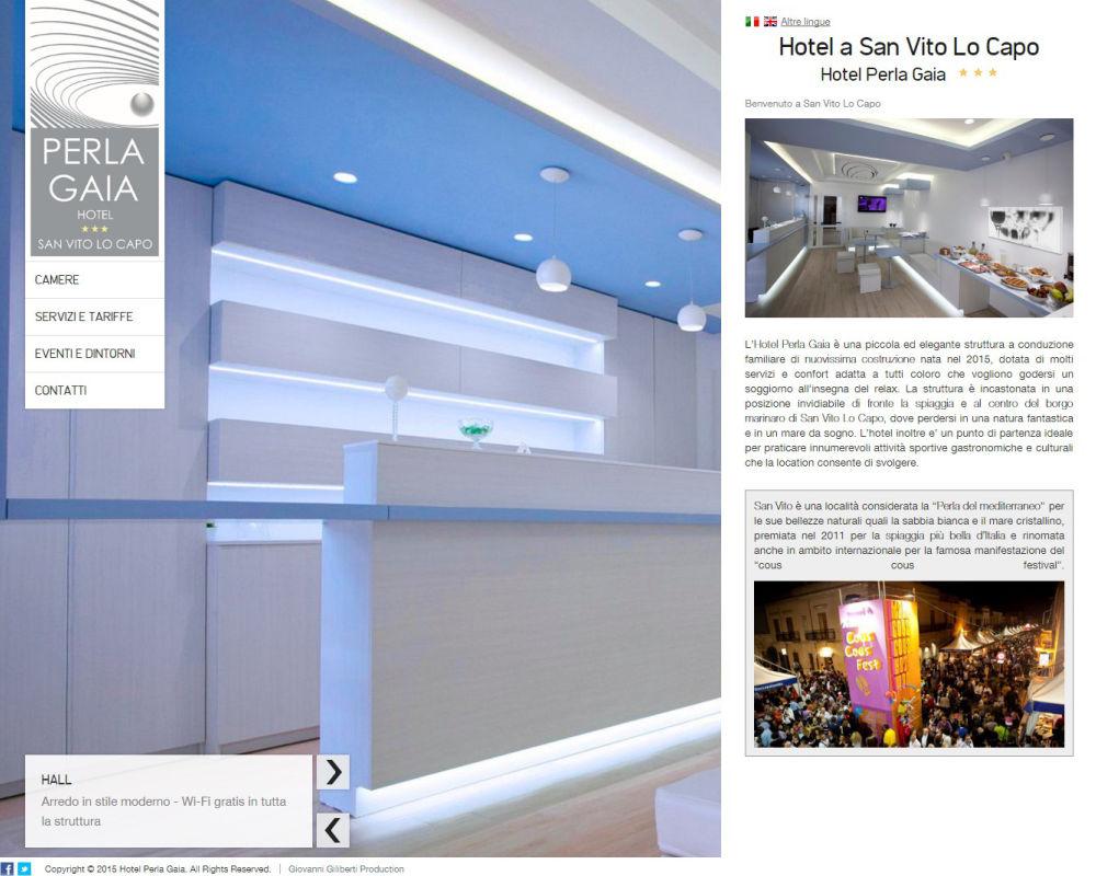 Hotel Perla Gaia - Hotel a San Vito Lo Capo