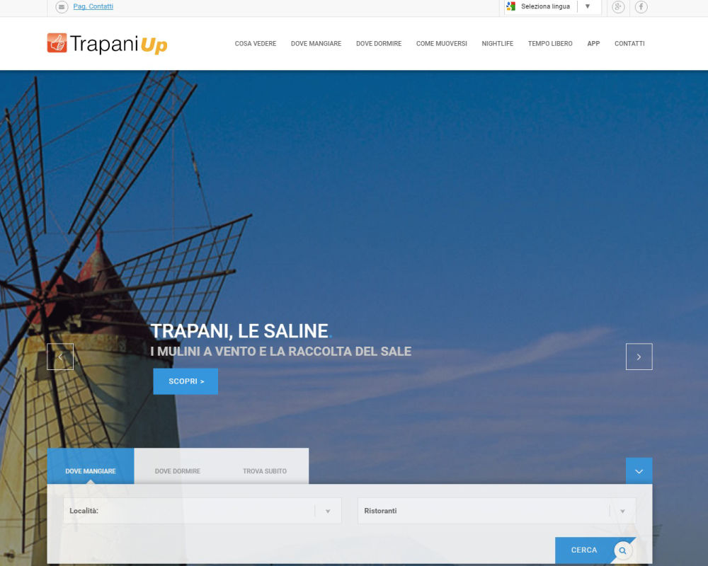 Trapani Up - App mobile con info su TP