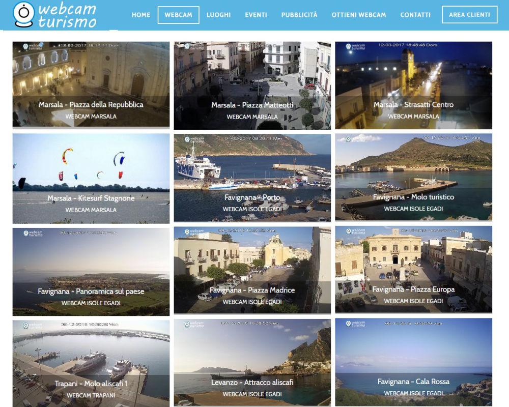 WebCam Turismo - Webcam Trapani e dintorni
